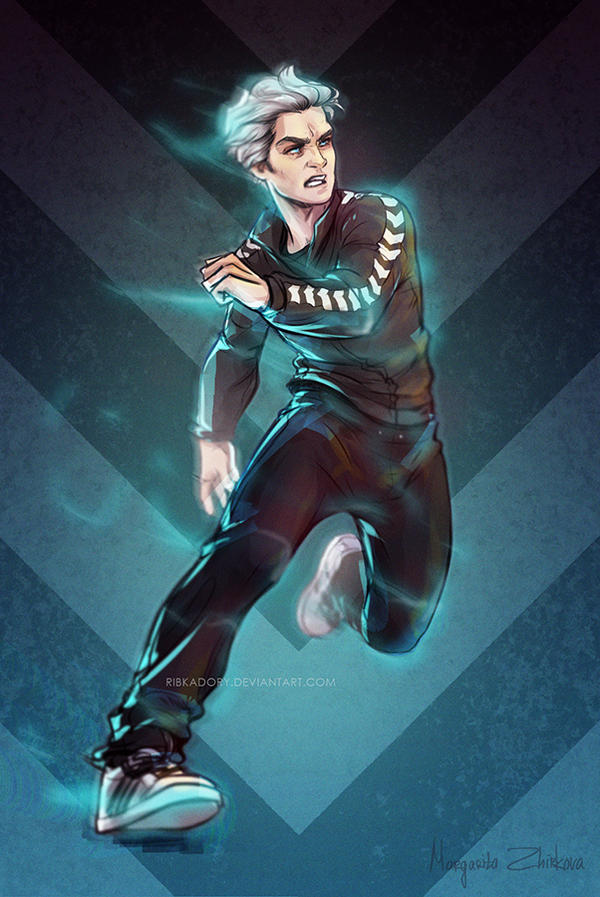 Quicksilver By Ribkadory On Deviantart
