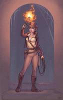 Indiana Jones by ribkaDory