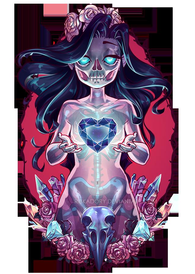 Ghost Girl Drawloween2015