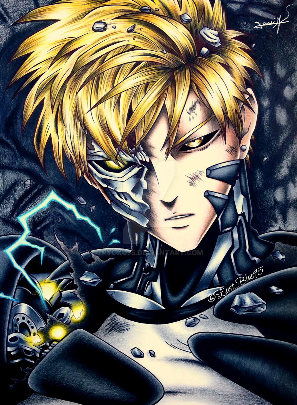 one punch man genos - photo #4