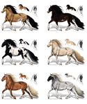 Horse adoptables batch - CLOSED