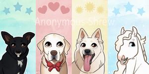 Cartoony phone backgrounds