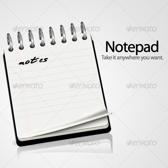 Notepad icon by benedik