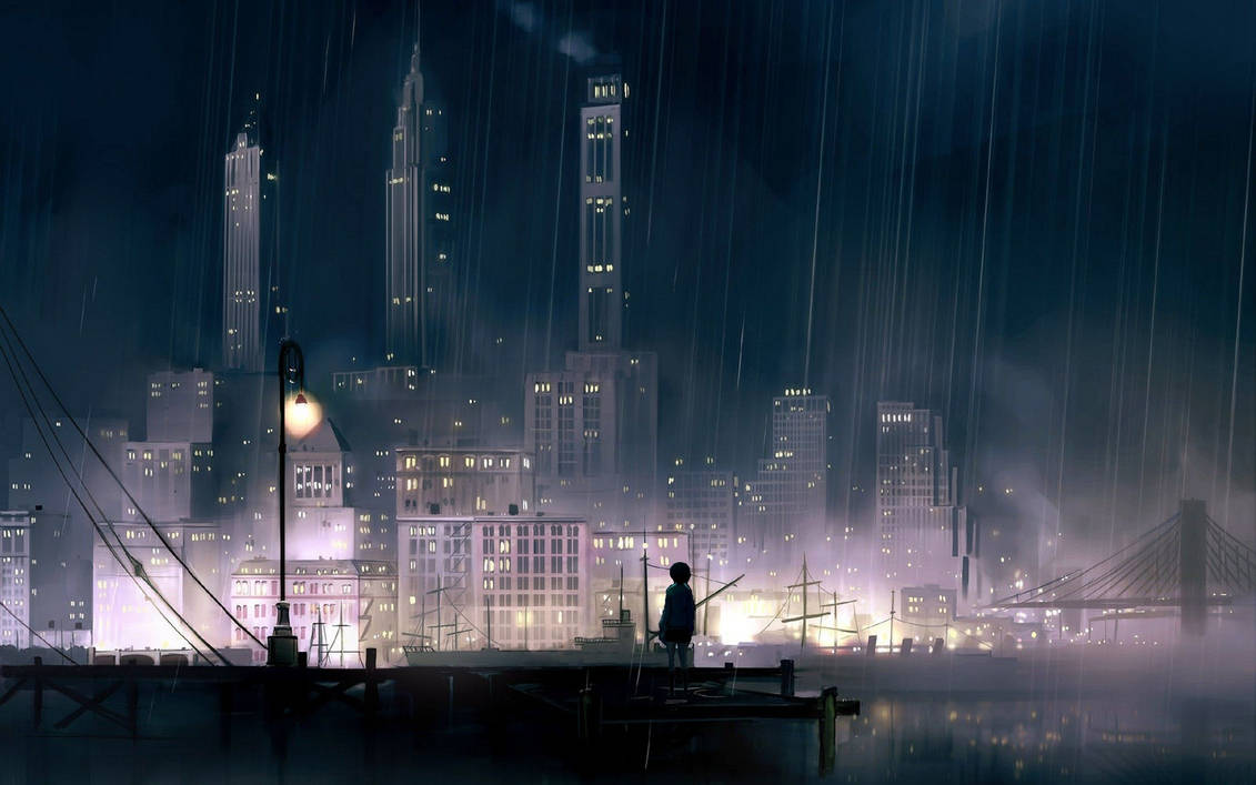sad rainy night - HD 1600×1200