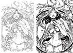 ink test-nakayama's witchblade