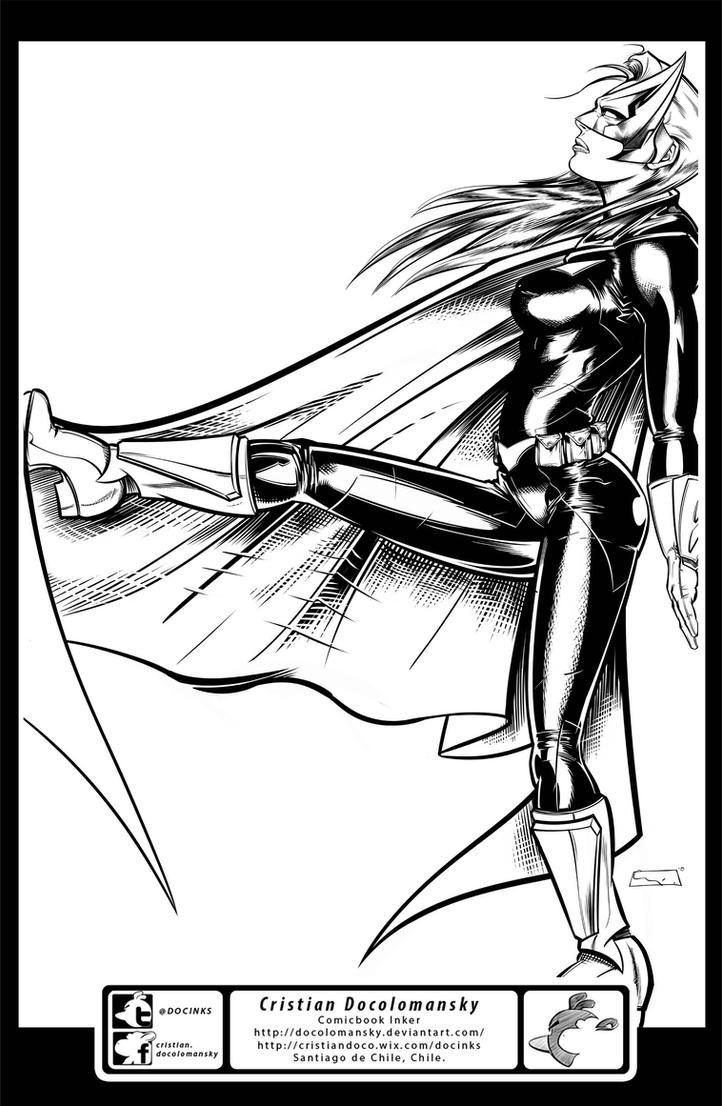 Batwoman by Docolomansky