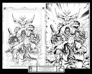Starburn Issue 03 CVR - inks by Docolomansky