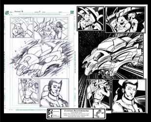 Starburn Issue 03 Page 18 - inks by Docolomansky