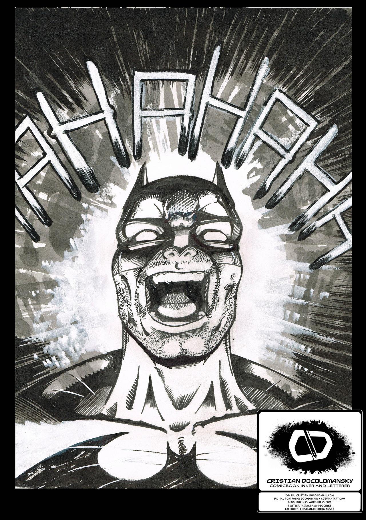 Batman Sketch by Docolomansky