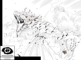 Zinnober Issue 7 Interior Page - Pencils
