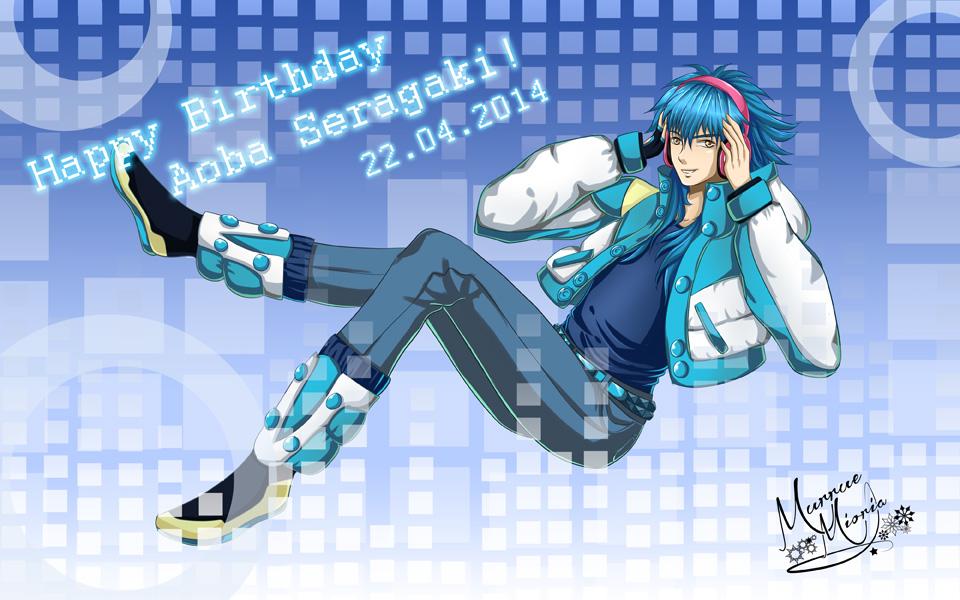 [DRAMAtical Murder] Happy Birthday Aoba! by MurrueMioria