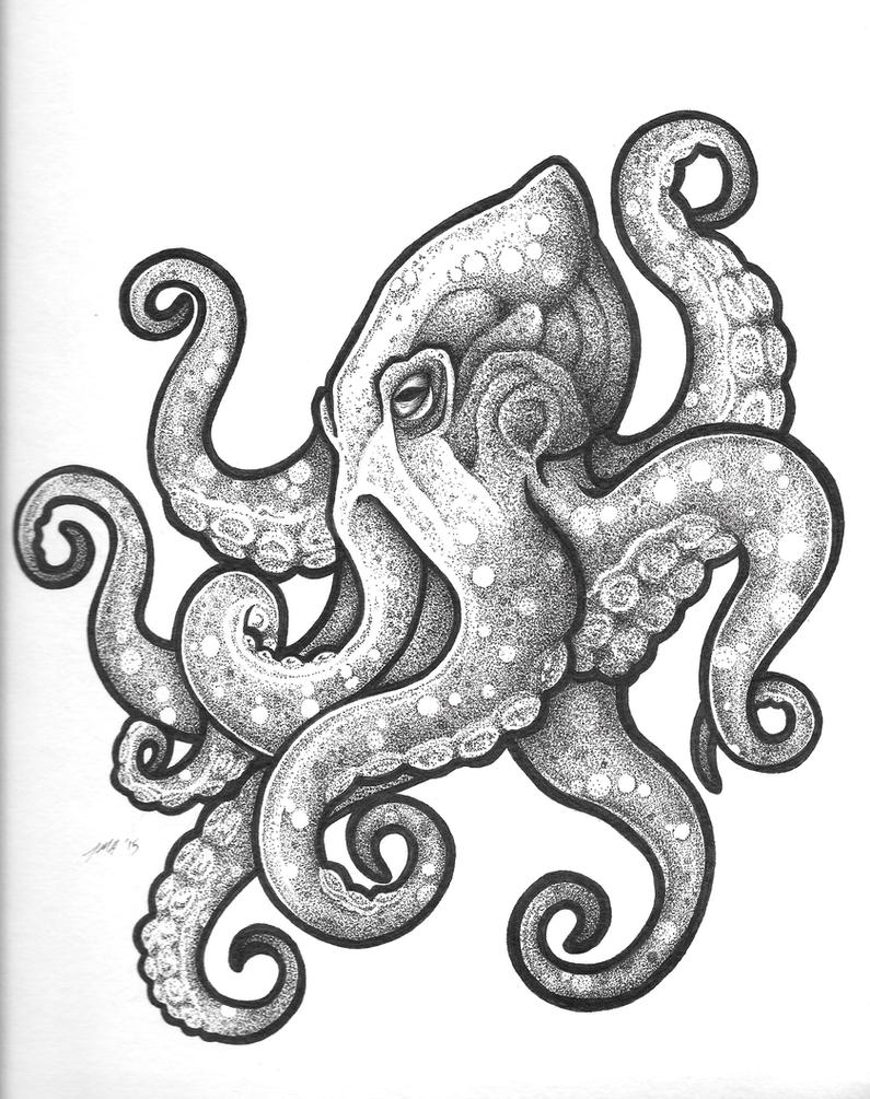 octopus tattoo design by breakthrough self on deviantart. Black Bedroom Furniture Sets. Home Design Ideas