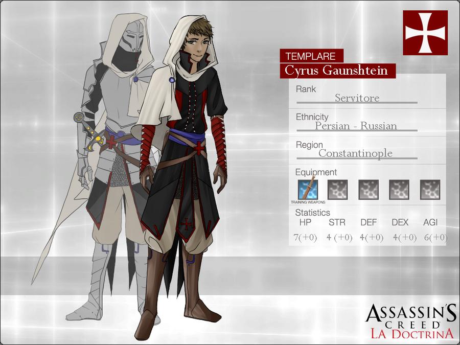 ACD: Cyrus Gaunshtein by KimakoX
