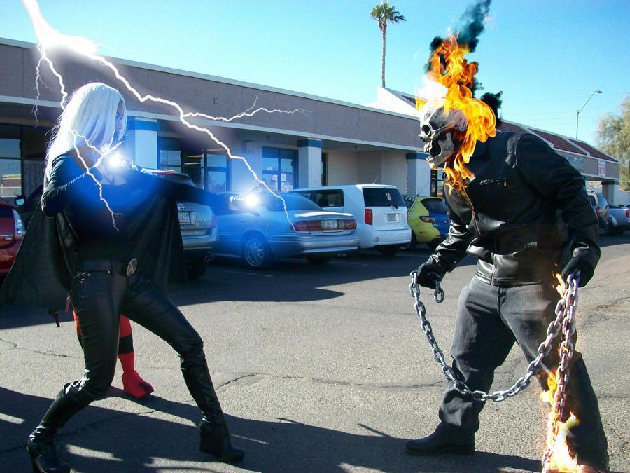 taokaka vs ghost rider - photo #40