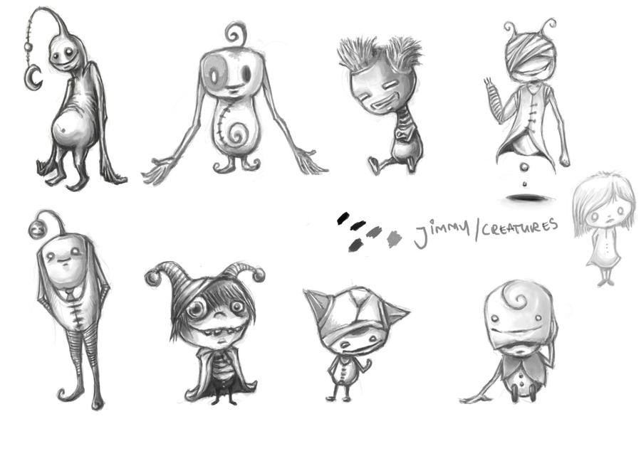 The Art Of Character Design Volume I : Character design by rats in the van on deviantart