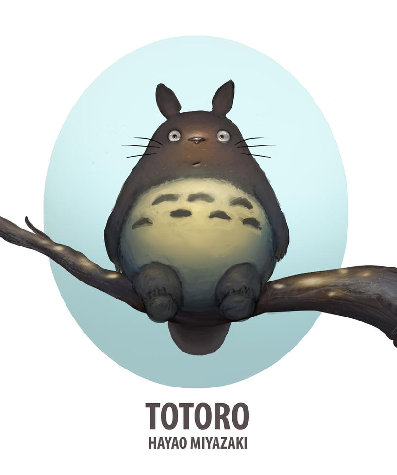TOTORO by Rats-in-the-van