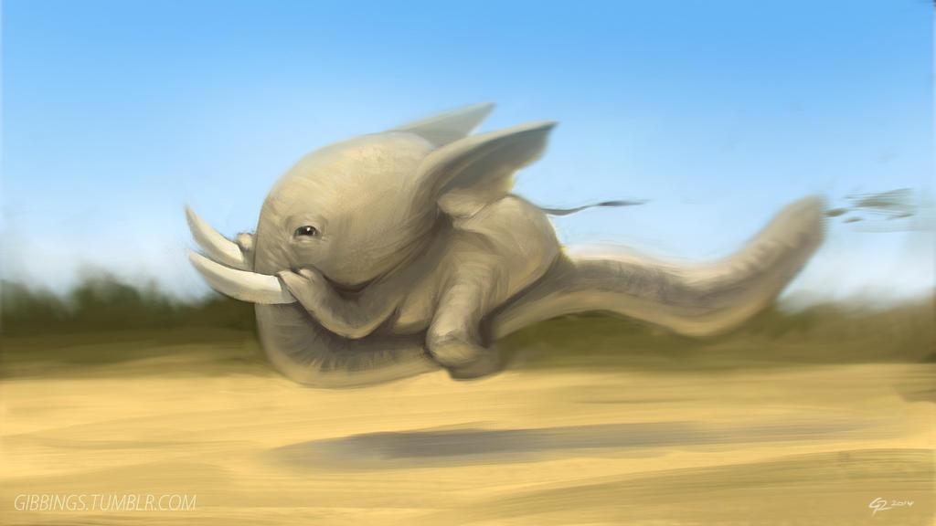 Elephant Speedster by Rats-in-the-van
