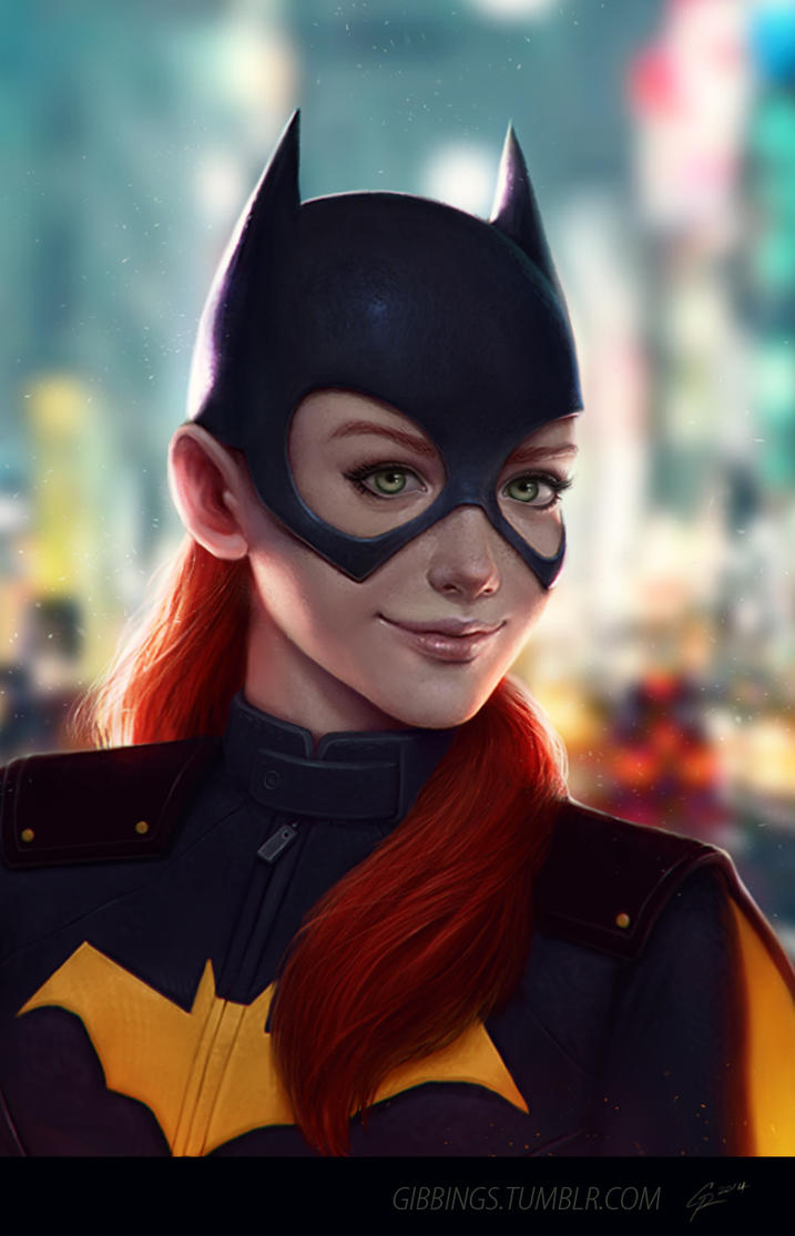 BATGIRL by Rats-in-the-van