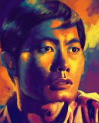 52 Portraits #11: Sulu by rflaum