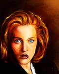 52 Portraits #16: Scully