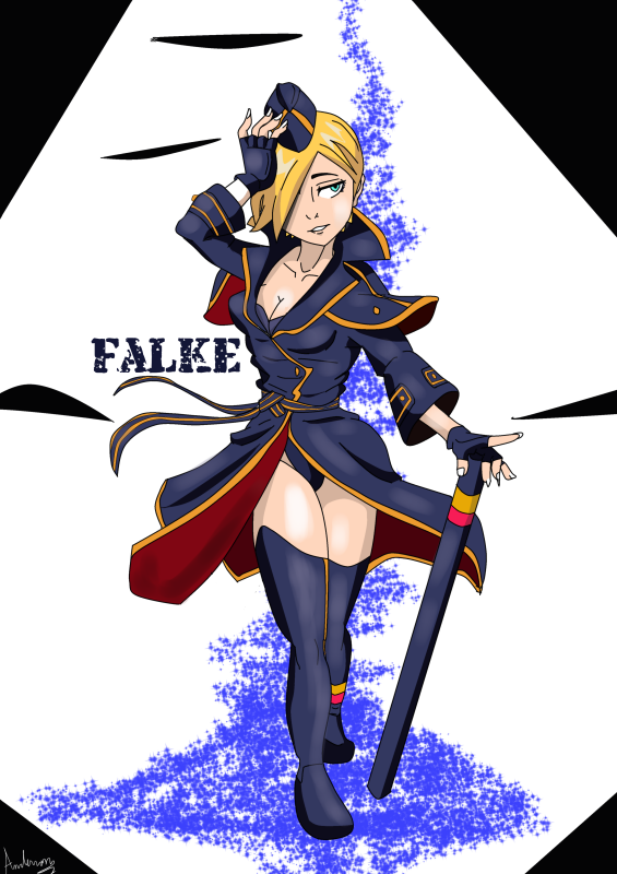 Falke by Darkiganv