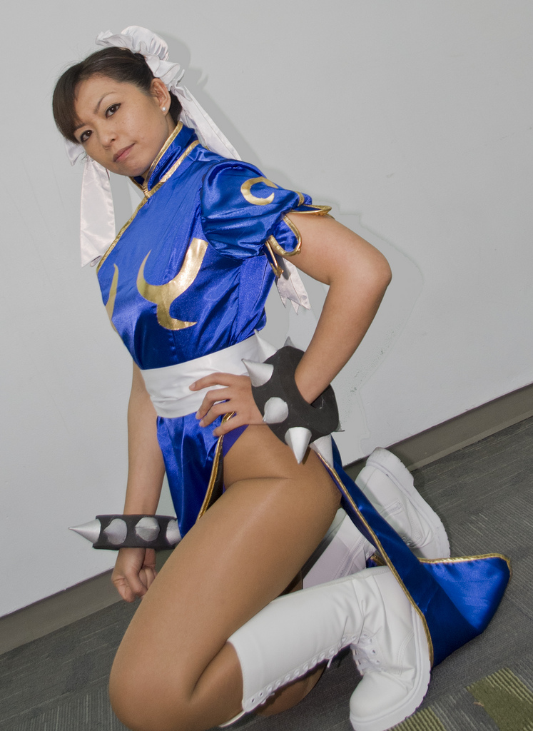 Lexy Chun Li Cosplay at Fanime 2012 by LexLexy