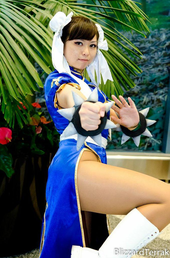 Chun Li cosplay - photo by BlizzardTerrak by LexLexy