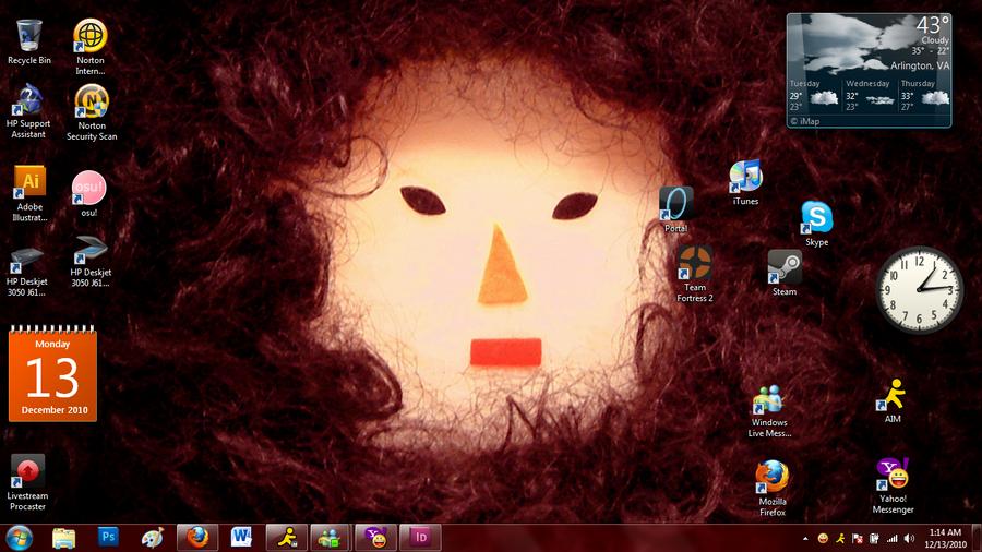Sexy desktop assistant