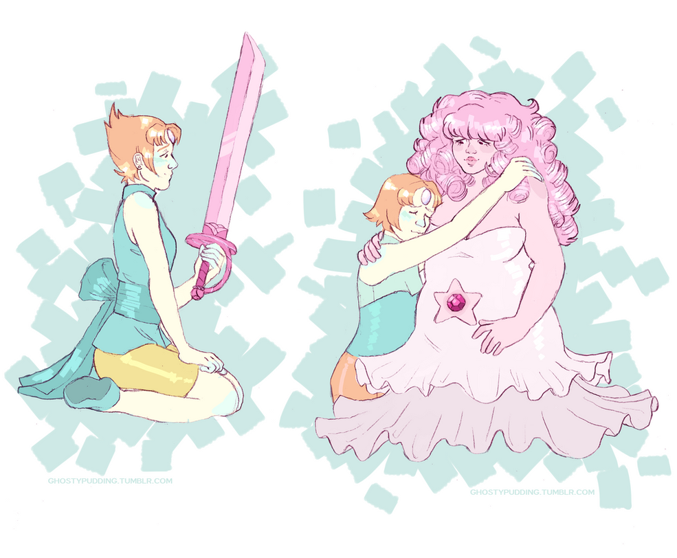 saw the new ep and got a lot of pearl feels. she is a tiny bab and she must be protected.