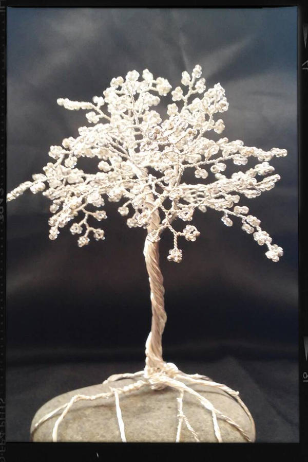 silver tree by redscrubsin