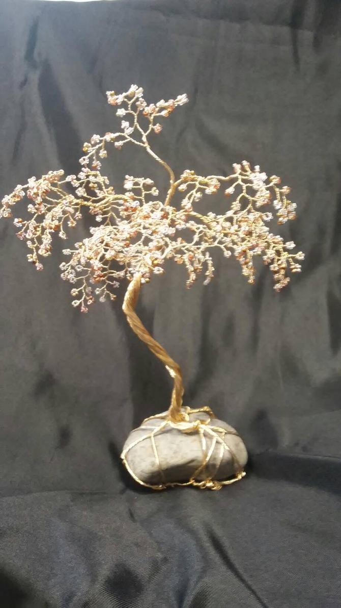 gold silver copper tree by redscrubsin
