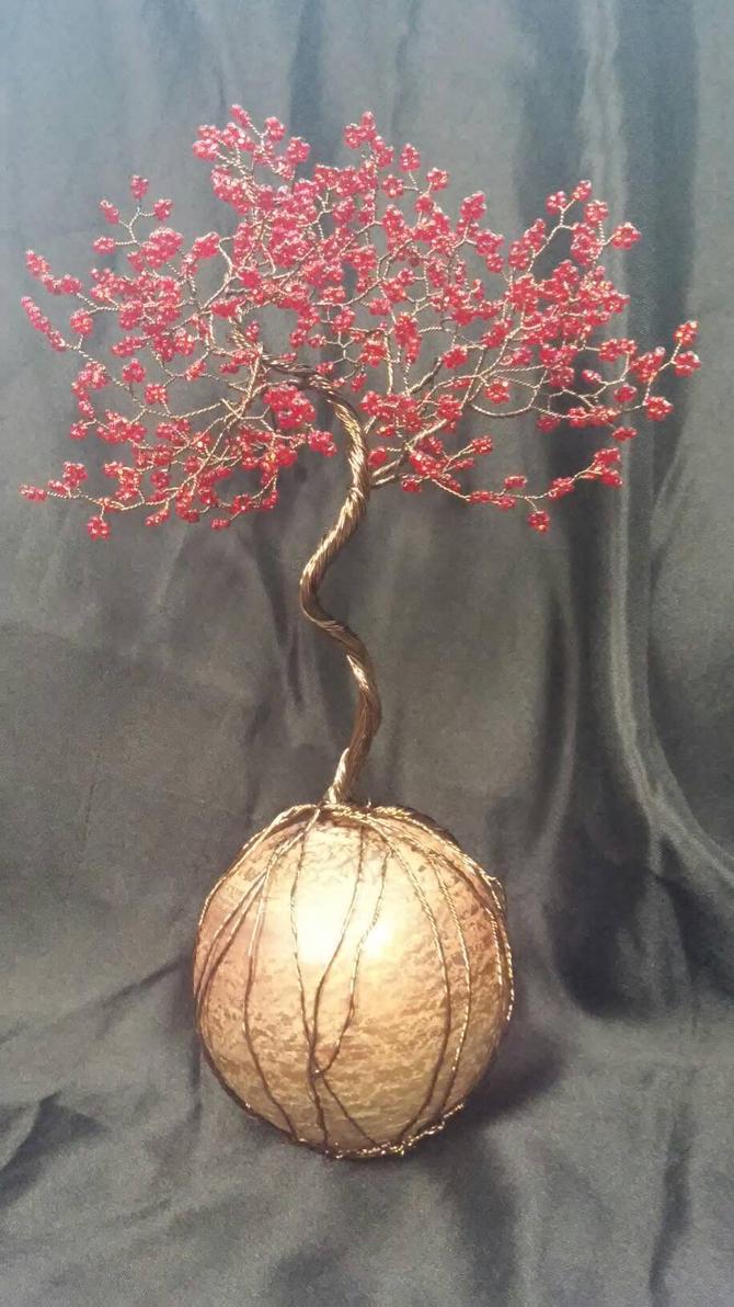 red maple tree by redscrubsin