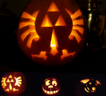 Family Pumpkin Carving Challenge! by Sir-Crimson
