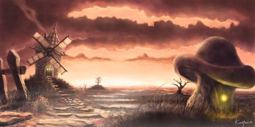 Windmill by costasmissios