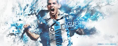 Sergio Aguero by GersonDesign