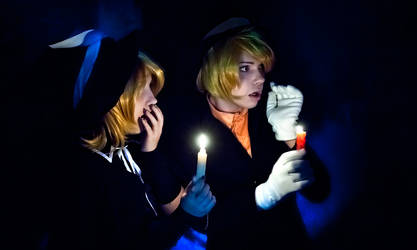 vocaloids Kagamine Len and Rin Trick and treat