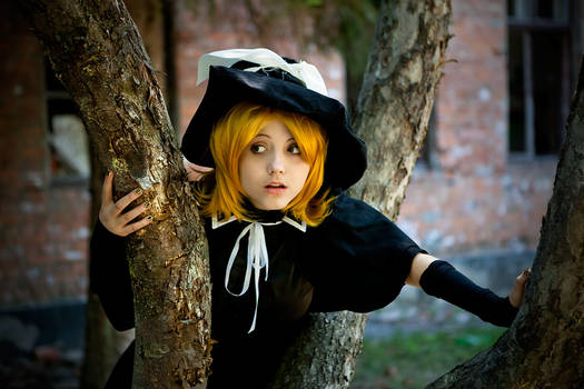 vocaloids Kagamine Rin Trick and treat version
