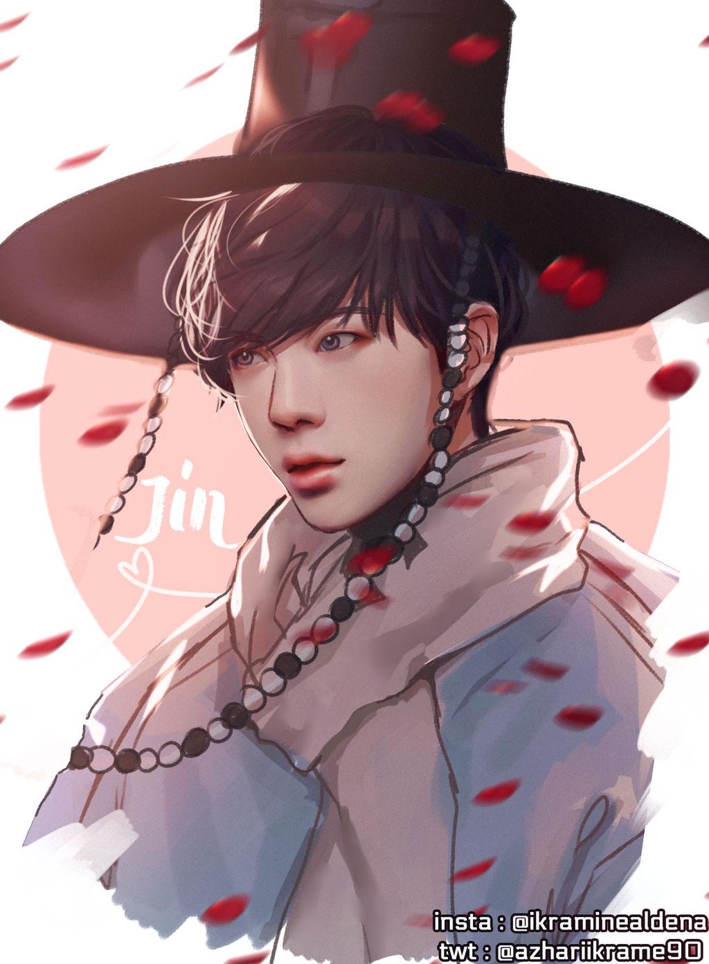 Bts Kim Seokjin Jin By Iku Aldena On Deviantart