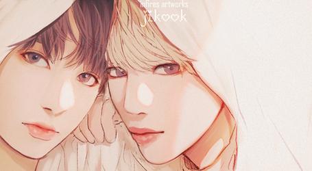 BTS - JiKook [LOVE YOURSELF 'Tear' X Serendipity by Iku-Aldena