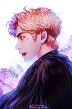 BTS   Kim Taehyung ( V ) - Fanart