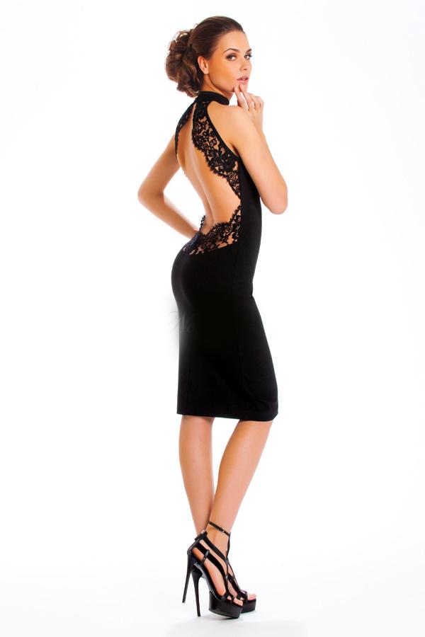 платья с открытой спиной вечерние фото