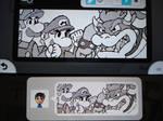 Miiverse - Mario and Luigi vs. Bowser