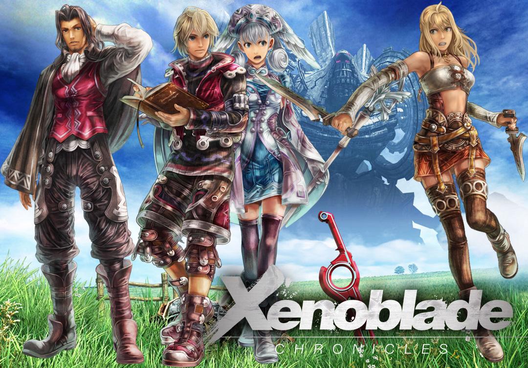 Xenoblade Chronicles Shulk And Melia Xenoblade ChroniclesXenoblade Chronicles Shulk