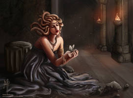 Medusa's Grief by j-am