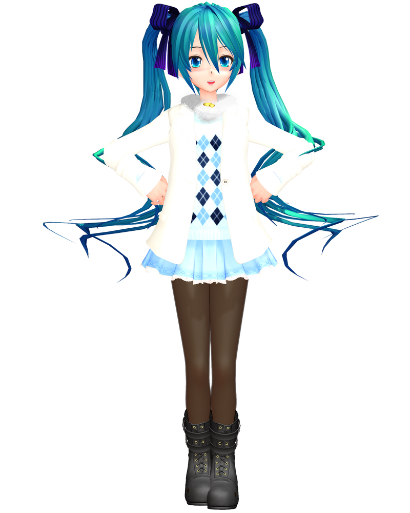 Mmd njxa2 casual miku by invisionstyle on deviantart for Deviantart mmd