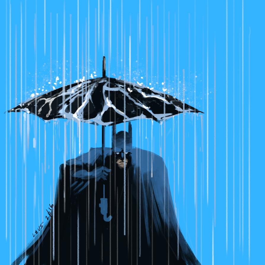 under the rain by leus00