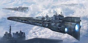 XII-91 Aircraft Carrier by BlueBloodMan