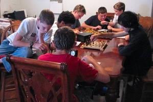 Chess club by poestokergorey