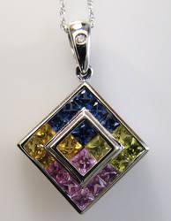 Multi-color sapphires