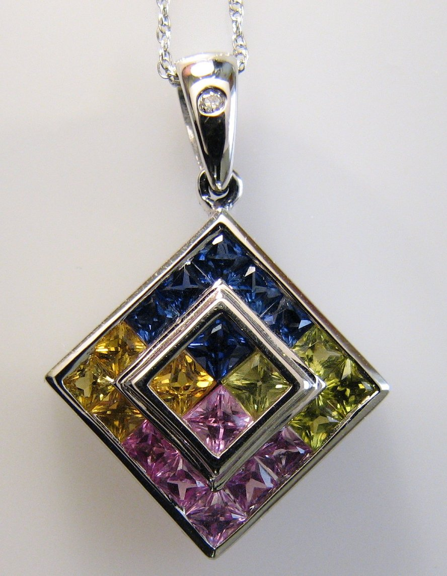 Multi-color sapphires by poestokergorey